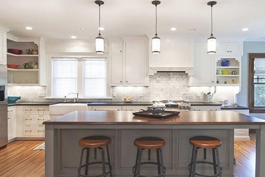 厨房灯光效果