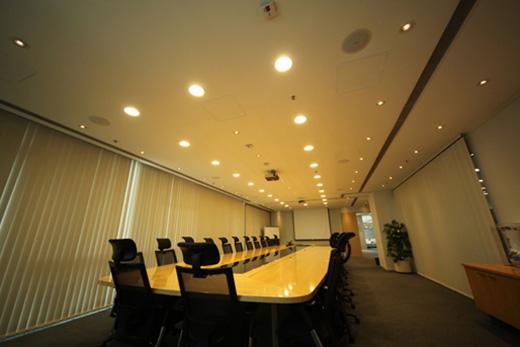 会议室灯光效果
